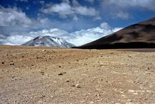 Free Mountains On Altiplano In Bolivia,Bolivia Royalty Free Stock Photos - 8606608