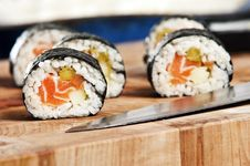 Free Sushi Royalty Free Stock Photo - 8606665
