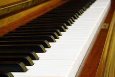 Free Old Piano Keyboard Stock Image - 8606981