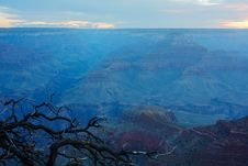 Grand Canyon Morning Royalty Free Stock Photo