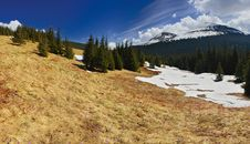 Free Spring In Mountains Stock Photography - 8607052