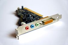 Free Detail Of Soundcard Royalty Free Stock Image - 8607056
