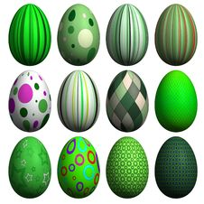 Free Easter Egg Collection Stock Photo - 8607280