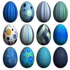 Free Easter Egg Collection Stock Photos - 8607493