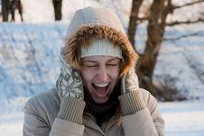 Free Winter Girl Royalty Free Stock Image - 8607696