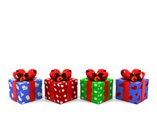Free Gifts Background Royalty Free Stock Photo - 8607875