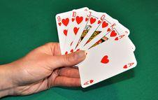 Free Poker Royalty Free Stock Photography - 8607907