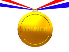 Free Winner Medal Stock Photography - 8607952