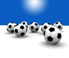 Free Soccer Balls Royalty Free Stock Photos - 8608308