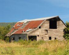 Free Arkansas Barn II Royalty Free Stock Photo - 8608365