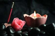 Free Candle Royalty Free Stock Photos - 8609528