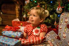 Free Christmas, Family, Holidays, Present Royalty Free Stock Image - 86005356