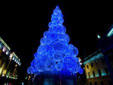 Free Dublin Christmas Lights Royalty Free Stock Photos - 86005428