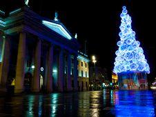 Free Dublin Christmas Lights Stock Photo - 86005440