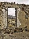 Free Window To The Mountains Royalty Free Stock Photos - 8610118