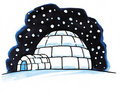 Free Snow Igloo Royalty Free Stock Photos - 8614438