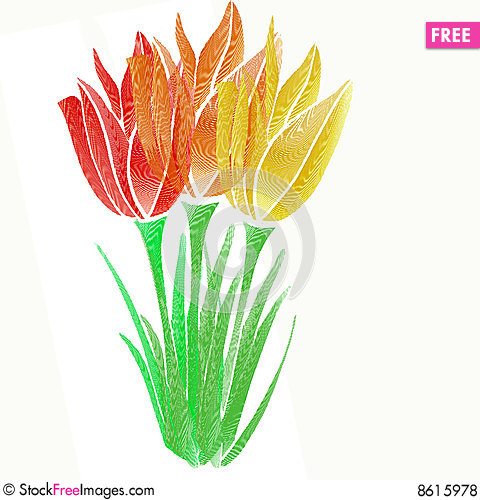 Free Graphic Flower Royalty Free Stock Photos - 8615978