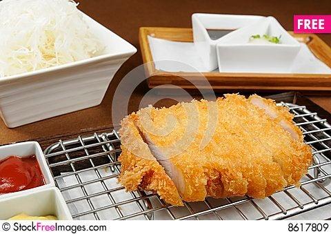 Tonkatsu Stock Photo