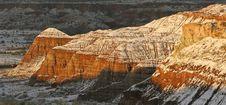 Free Sunrise On Sandstone Bluffs Stock Image - 8610081