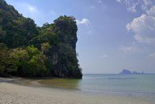 Free Chao Mai Beach, Trang Province, Thailand. Stock Photography - 8610152