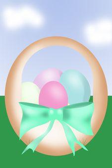 Free Easter Basket Stock Photo - 8610590