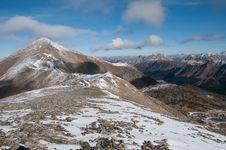 Teepee Mountain Royalty Free Stock Photography