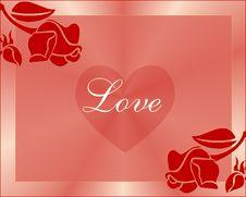 Free Love Frame Stock Photo - 8611500