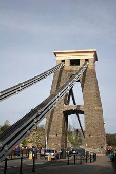 Free Clifton Suspension Bridge Royalty Free Stock Photography - 8611567