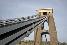 Free Clifton Suspension Bridge Royalty Free Stock Photo - 8611625