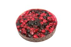 Berry Pie. Stock Photo