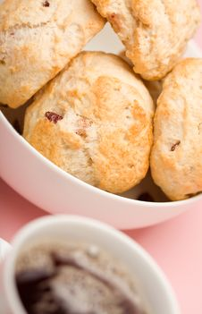 Free Tea And Scones Stock Images - 8611934