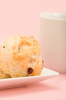 Free Tea And Scones Royalty Free Stock Photography - 8612017