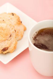 Free Tea And Scones Stock Photos - 8612043