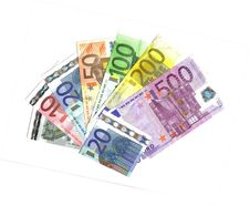 From 5 To 500 Euro Range Royalty Free Stock Image