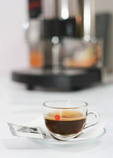 Free Coffee Maker Stock Photography - 8613192