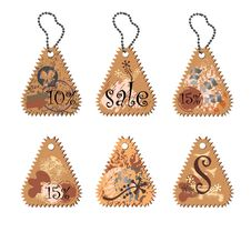 Free Spring Tags Stock Photography - 8613272