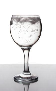 Free Ice Water. Stock Photo - 8613320