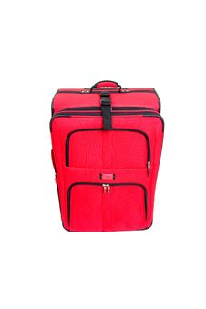 Free Red Suitcase Royalty Free Stock Photography - 8613337