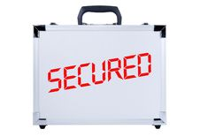 Free Gray Metal Suitcase Royalty Free Stock Photos - 8613628