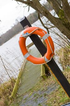 Free Jetty Life Buoy Stock Photos - 8613633