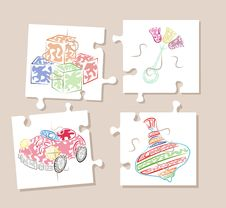 Free Puzzle Stock Photography - 8613932