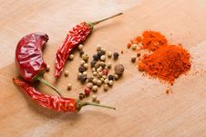 Free Condiments Royalty Free Stock Image - 8613976