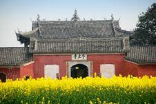 Free Pengzhou, China:  Jin Tu Temple Stock Images - 8614364