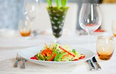 Free Vegetable Salad Stock Photography - 8614482