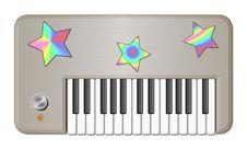 Free Retro Childish Keyboard Royalty Free Stock Image - 8614796