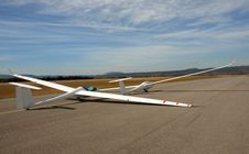 Free Two Gliders Stock Image - 8614821
