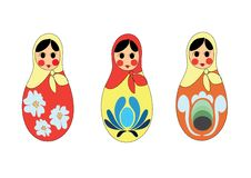 Free Russian Matreshka Royalty Free Stock Photo - 8615285