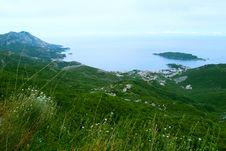 Free Bird-eye View On Coastline Stock Photography - 8615292