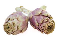 Free Artichokes On White Background Stock Photos - 8615373