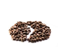 Free Coffee Grains Royalty Free Stock Images - 8615619